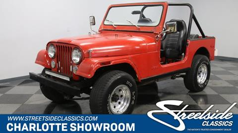 1979 Jeep CJ-7 for sale in Concord, NC