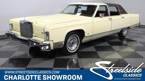 1977 Lincoln Continental for sale in Concord, NC