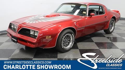 1978 Pontiac Firebird for sale in Concord, NC