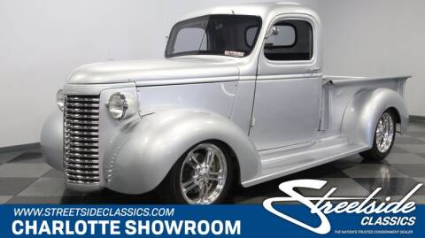 1940 Chevrolet Pickup Truck Restomod for sale at Streetside Classic Cars - Charlotte - Streetside Classics in Concord NC