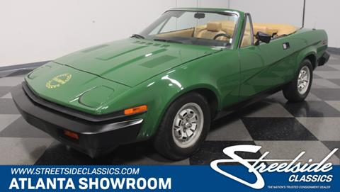 1980 Triumph TR7 for sale in Lithia Springs, GA