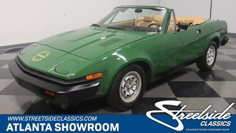 Triumph Tr7 For Sale In Illinois Carsforsalecom