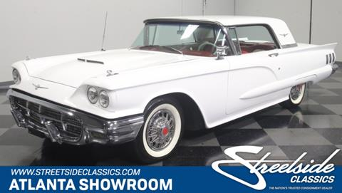 1960 Ford Thunderbird For Sale In Georgia Carsforsale