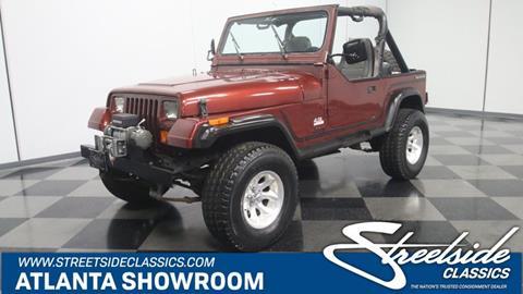 1987 Jeep Wrangler for sale in Lithia Springs, GA