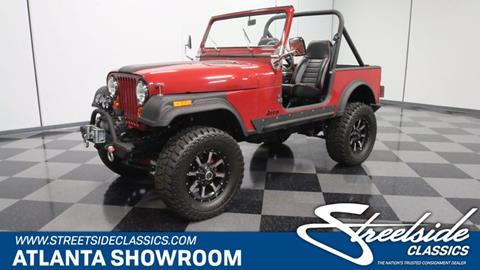 1982 Jeep CJ-7 for sale in Lithia Springs, GA