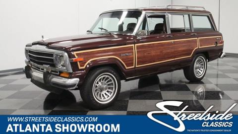 1987 Jeep Grand Wagoneer for sale in Lithia Springs, GA