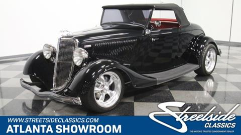 1934 Ford Cabriolet  for sale in Lithia Springs, GA