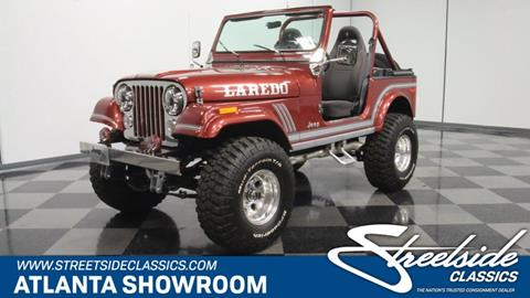 1985 Jeep CJ-7 for sale in Lithia Springs, GA