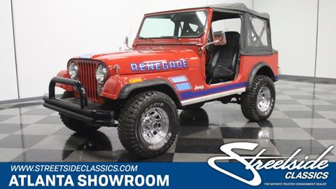 1983 Jeep CJ-7 for sale in Lithia Springs, GA