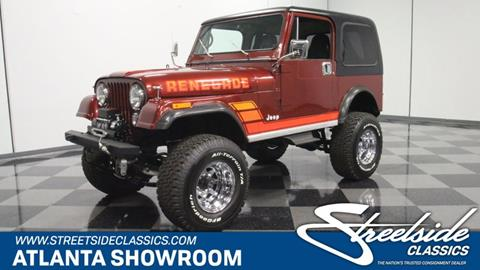 1984 Jeep CJ-7 for sale in Lithia Springs, GA