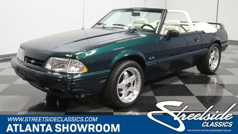 1992 Ford Mustang for sale in Lithia Springs, GA