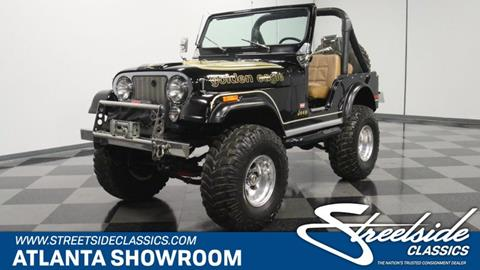 1976 Jeep CJ-5 for sale in Lithia Springs, GA