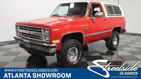 1987 Chevrolet Blazer for sale in Lithia Springs, GA
