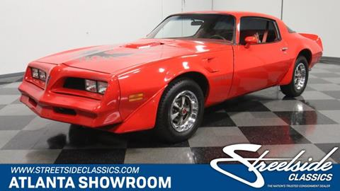 1977 Pontiac Firebird for sale in Lithia Springs, GA