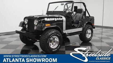 1973 Jeep CJ-5 for sale in Lithia Springs, GA