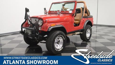 1982 Jeep CJ-5 for sale in Lithia Springs, GA