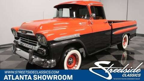 1959 Chevrolet Apache for sale at Streetside Classics in Lithia Springs GA