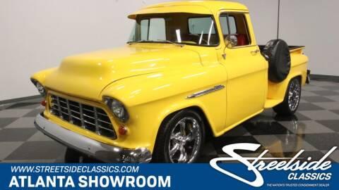 1955 Chevrolet 3100 for sale at Streetside Classics in Lithia Springs GA
