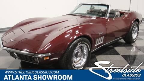 1969 Chevrolet Corvette for sale at Streetside Classics in Lithia Springs GA