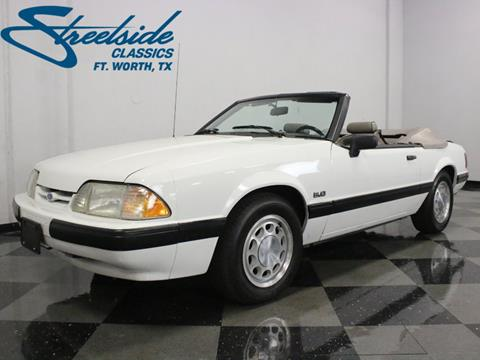 1990 Ford Mustang for sale in Fort Worth, TX