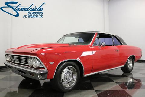1966 Chevrolet Chevelle for sale in Fort Worth, TX