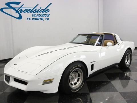 1982 Chevrolet Corvette for sale in Fort Worth, TX
