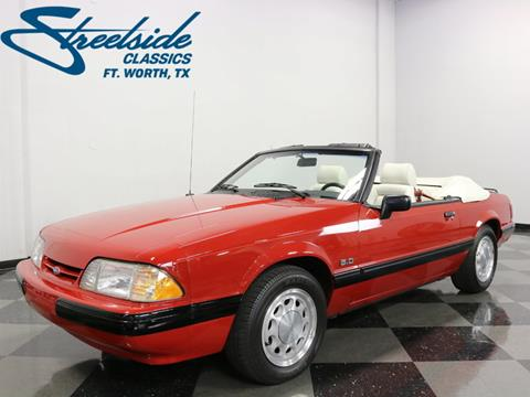 1988 Ford Mustang for sale in Fort Worth, TX