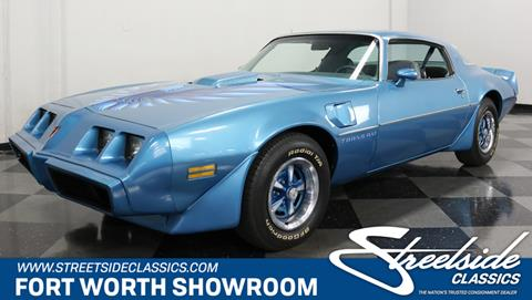1979 Pontiac Firebird for sale in Fort Worth, TX