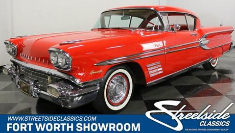 1958 Pontiac Bonneville for sale in Fort Worth, TX