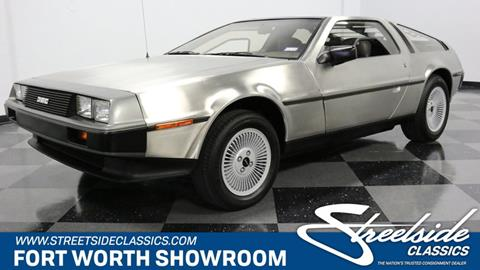 1981 DeLorean DMC-12 for sale in Fort Worth, TX