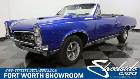 1967 Pontiac GTO for sale in Fort Worth, TX