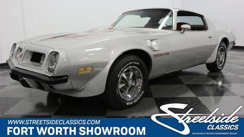 1975 Pontiac Firebird for sale in Fort Worth, TX