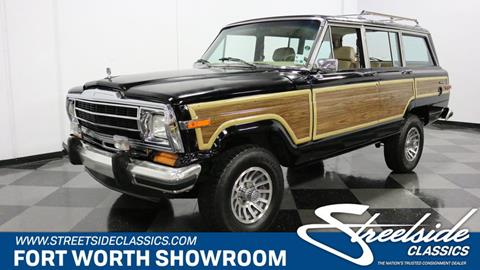 1991 Jeep Grand Wagoneer for sale in Fort Worth, TX