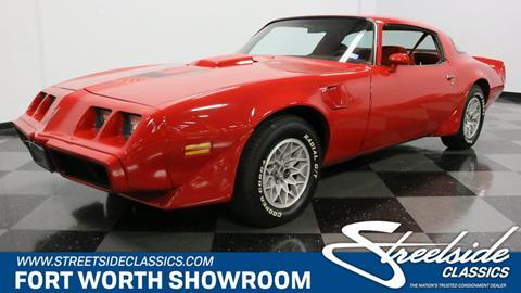 1981 Pontiac Firebird for sale in Fort Worth, TX