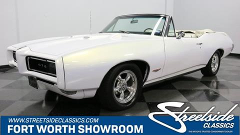 1968 Pontiac GTO for sale in Fort Worth, TX