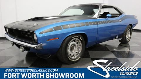 1970 Plymouth Cuda for sale in Fort Worth, TX