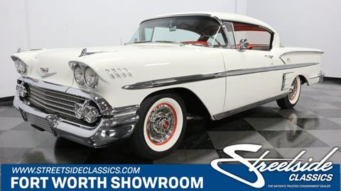 1958 Chevrolet Impala for sale in Fort Worth, TX