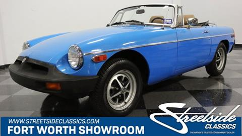 1979 MG MGB for sale in Fort Worth, TX