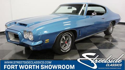 1972 Pontiac GTO for sale in Fort Worth, TX