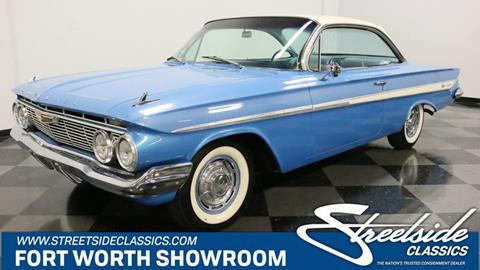 61 Impala For Sale >> 1961 Chevrolet Impala For Sale In Fort Worth Tx