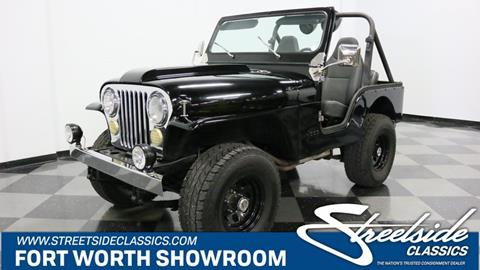 1977 Jeep CJ-5 for sale in Fort Worth, TX