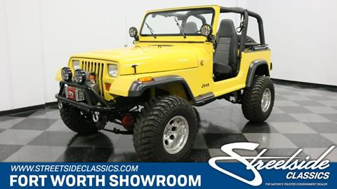 1993 Jeep Wrangler for sale in Fort Worth, TX