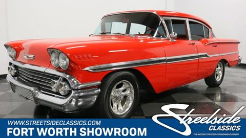 1958 Chevrolet Biscayne for sale in Fort Worth, TX