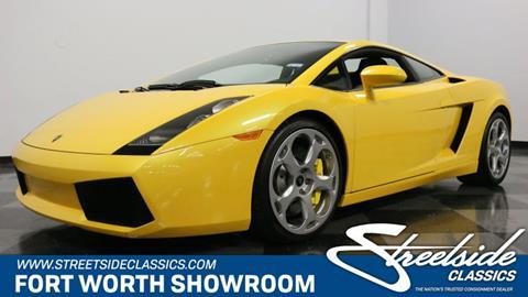 Used Lamborghini Gallardo For Sale In Texas Carsforsale Com