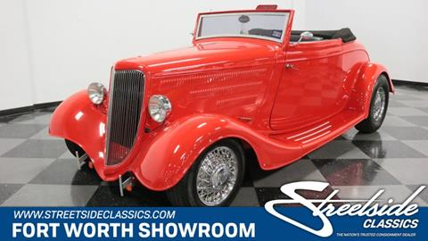 1934 Ford Cabriolet  for sale in Fort Worth, TX