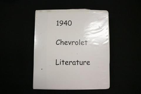 1940 Chevrolet Master Deluxe