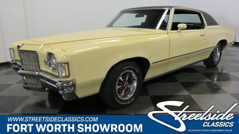 1972 Pontiac Grand Prix for sale in Fort Worth, TX
