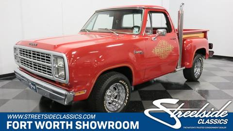 1979 Dodge D150 Pickup for sale in Fort Worth, TX