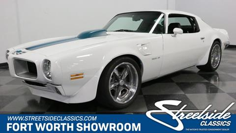 1973 Pontiac Firebird for sale in Fort Worth, TX