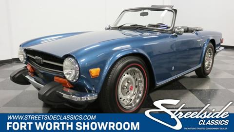 1974 Triumph TR6 for sale in Fort Worth, TX